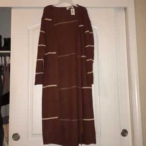 Sweaters - New with tags maroon long cardigan